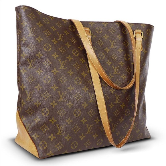 bbc16352bd50 Louis Vuitton Handbags - Louis Vuitton Brown Monogram  Cabas Piano  Tote